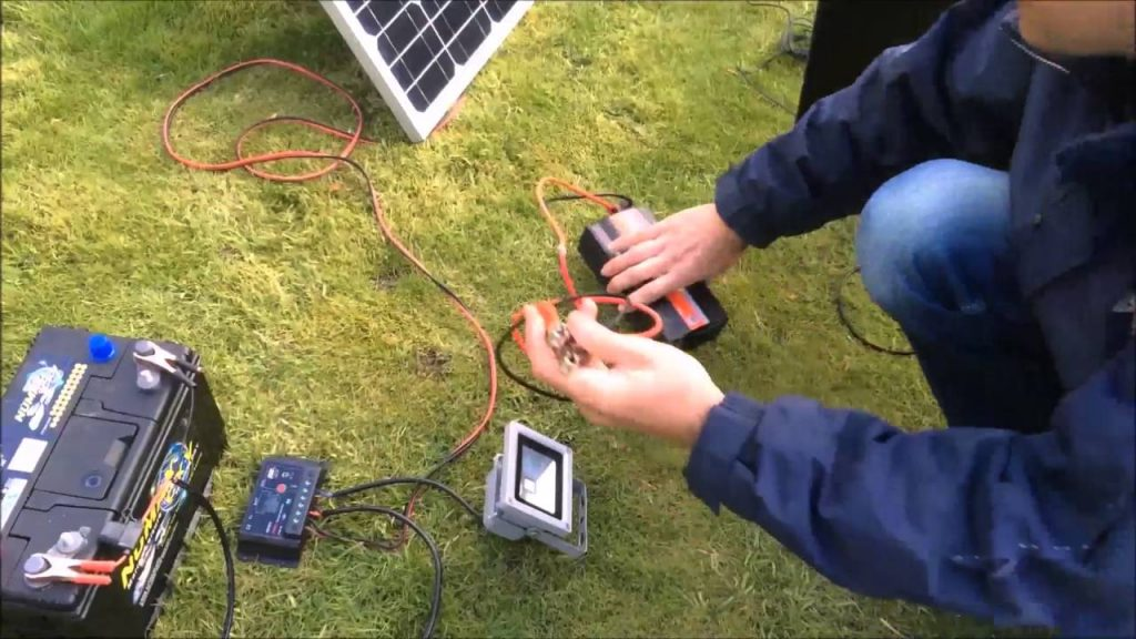 Connect Solar Panels To Battery Bank